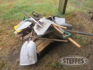 Asst shovels hand tools 1 jpg