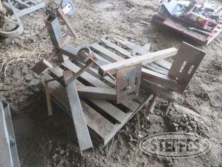 Tractor splitting stands 1 jpg