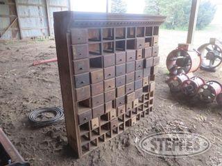 Antique parts cabinet 1 jpg