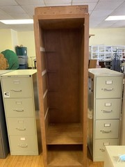 Large cabinet with no shelves 24
