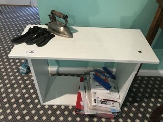 Small Table/Bench w/Miscellaneous