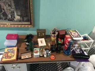 Miscellaneous on Desk