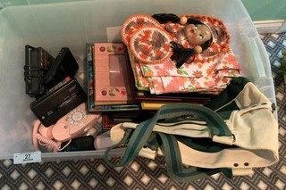 Large Tote of Miscellaneous
