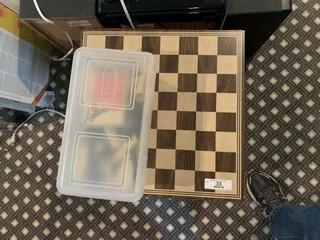 Chess Game Storage Box