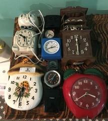 Lot of Miscellaneous & Vintage Clocks