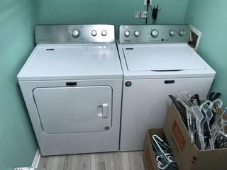 Nice Maytag Washer & Dryer