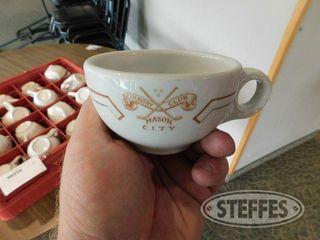 Approx 24 Mason City Country Club Coffee Cups 3 jpg
