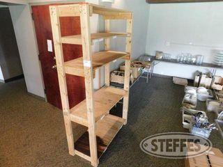 19 x44 x79 Plywood Shelf Unit 2 jpg