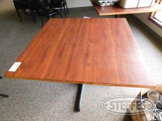 42 Square Wood Table 2 jpg