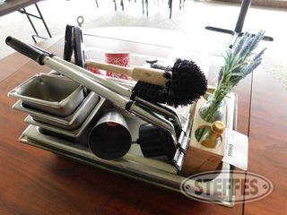 Misc Kitchen Items Stainless Steel Pans 2 jpg
