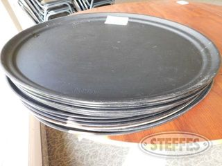 Approx 12 Oval Serving Trays 2 jpg