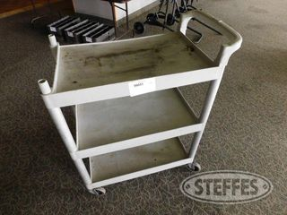 3 Shelf Poly Rolling Cart 16 x24 2 jpg