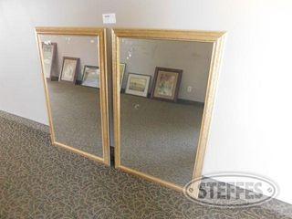 2 Framed 28 x44 Mirrors 2 jpg