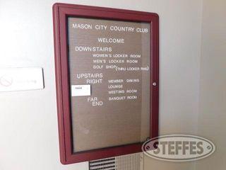 Enclosed Glass Display Bulletin Board 2 jpg