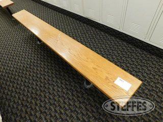 7 Wood locker Room Bench 2 jpg