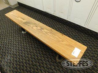 5 Wood locker Room Bench 2 jpg
