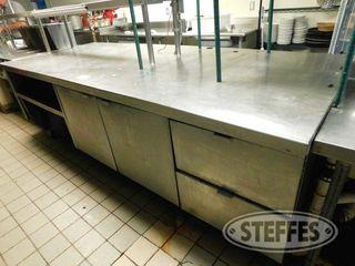 10 x4 Stainless Steel Work Prep Station 2 jpg