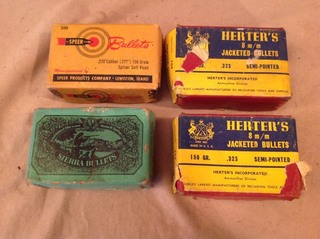 Full Boxes Vintage Bullets