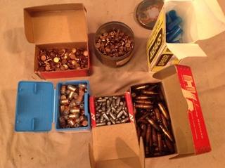 Assorted Bullets & Supplies