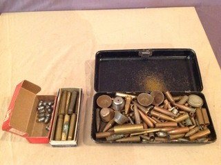 Assorted Casings, Bullets, Misc