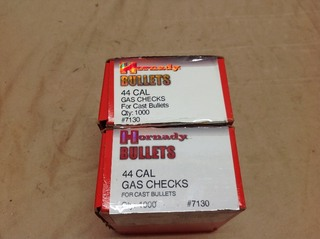 44 Cal Gas Checks