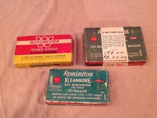 Vintage Boxes & Contents