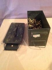 4# 308 Casings in Metal Ammo Box
