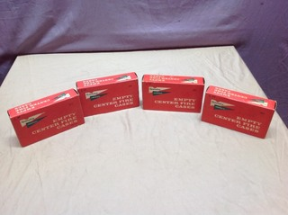 4 NOS Boxes Rem 6mm Unprimed Cases