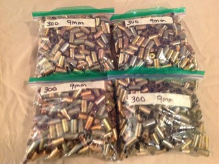1200 9mm Casings