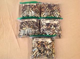 1500 9mm Casings