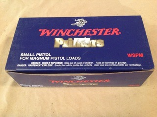 Winchester Small Pistol Primers for Magum Loads