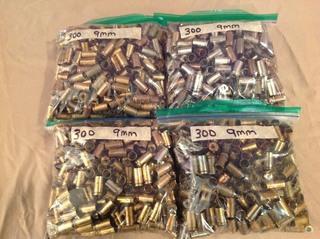 1200 9mm Casings