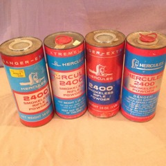 4 Cans Hercules Powder