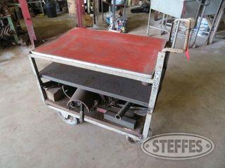 Rolling shop cart steel 0 JPG