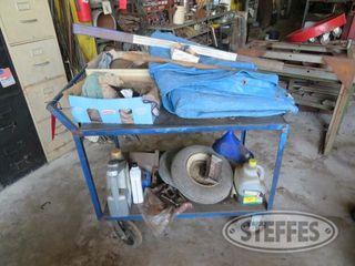 Rolling steel shop cart 0 JPG