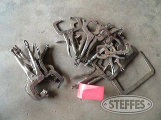 Bucket of welding clamps 0 JPG