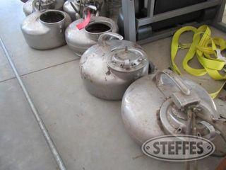 6 Surge stainless steel milker buckets 0 JPG