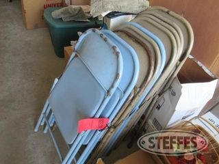 Folding chairs steel 0 JPG