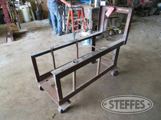 Rolling shop cart heavy duty 0 JPG