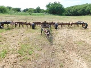 Noble 30  tri fold cable cultivator w harrow