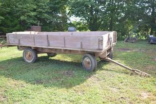 Wooden Dump Bed Wagon - 14 Ft. Long, 78