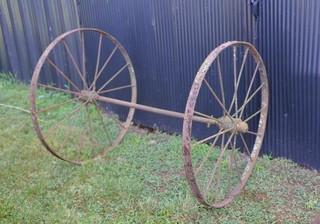 Set of Steel Wheels - 39