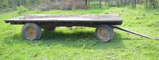 14 Ft. Hay Wagon w/8 Ton Running Gear