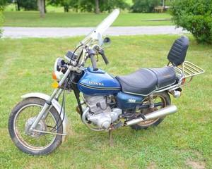 1978 Honda 185 Twinstar Motorcycle, Odometer