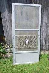 Vintage Aluminum Storm Door - 80