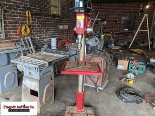 12 speed drill press with 1 ¼ chuck, 1 ½ HP elect