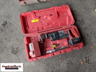 Milwaukee Sawzall, 18V with charger