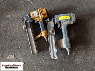 Bostitch and Stanley air nail guns
