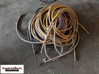 Large lot of air hose