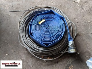 2? hose with Banjo fitting and cable